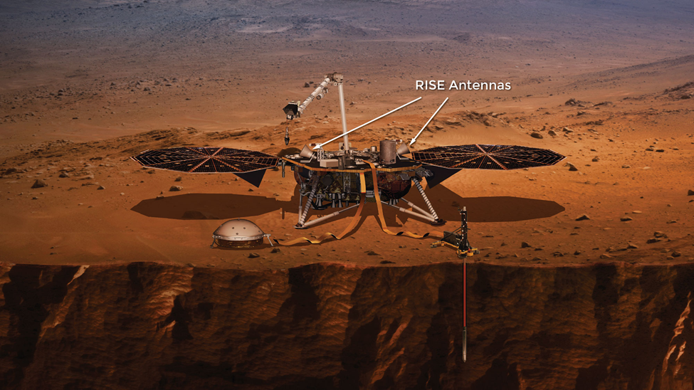Artist's view of the InSight Lander