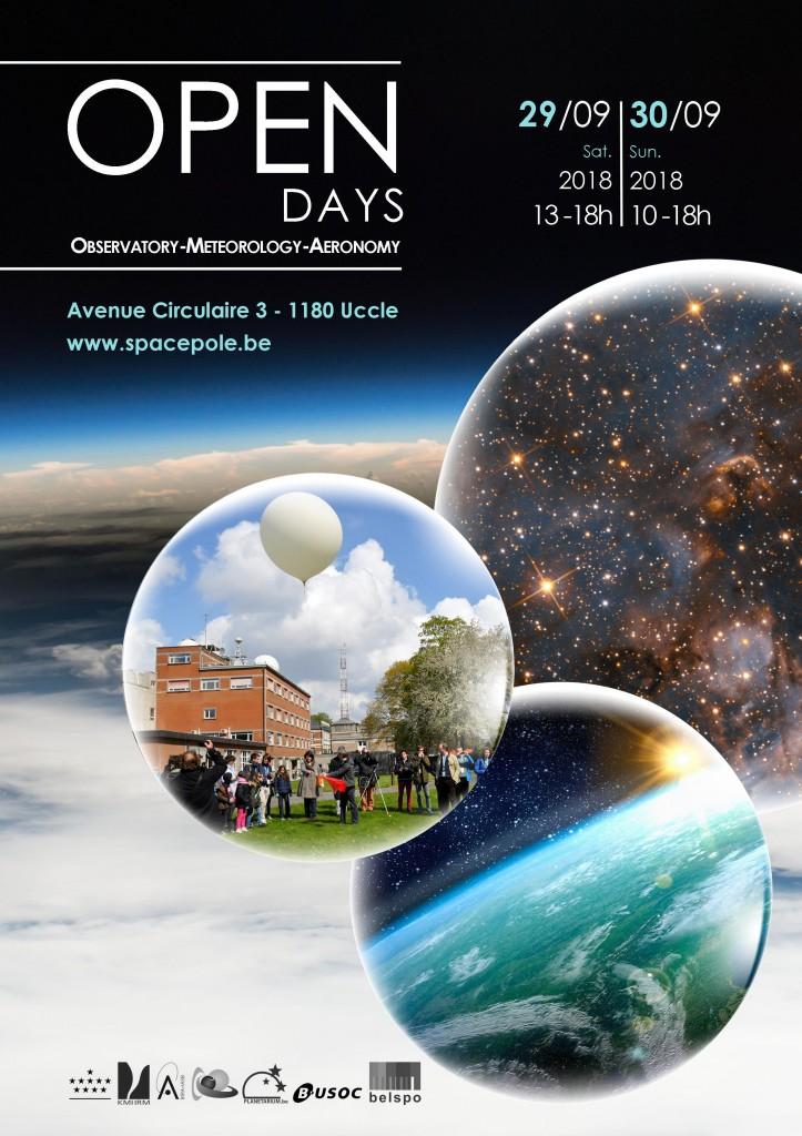 Open Days affiche EN