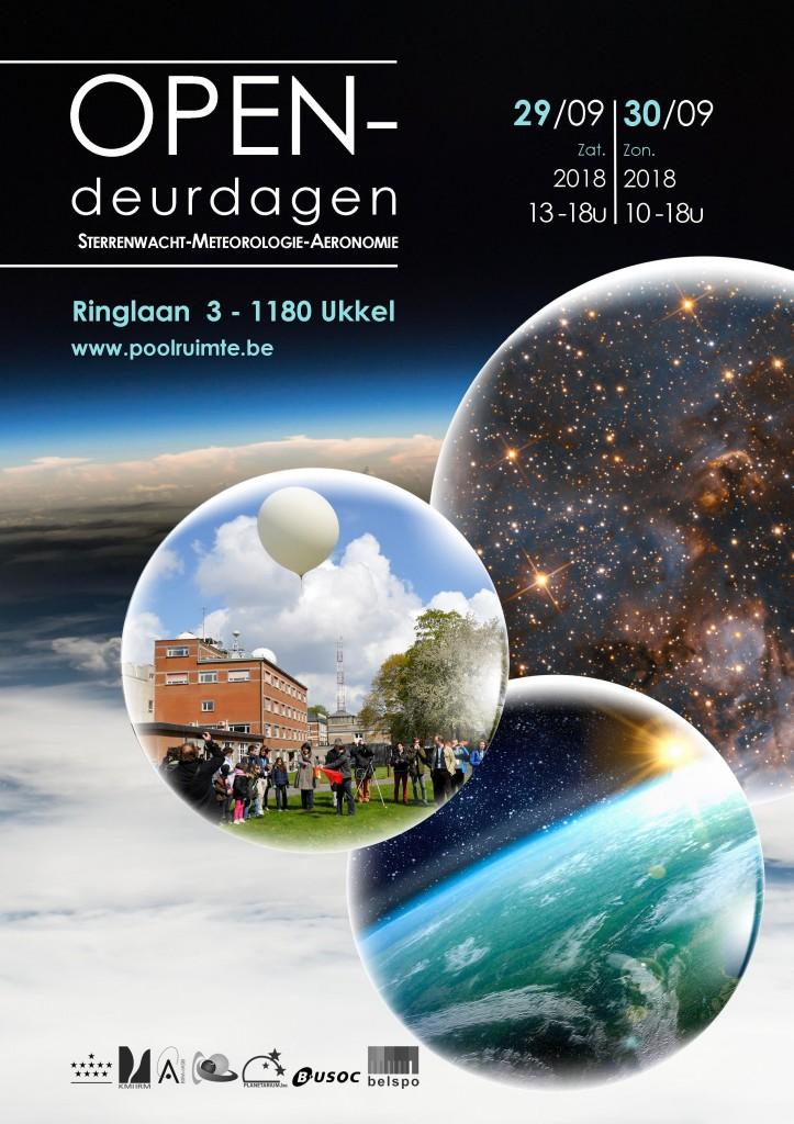 Opendeurdagen 2018 affiche NL