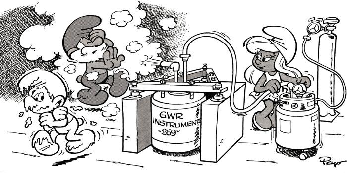 GWR gravimeter - 1982-1983